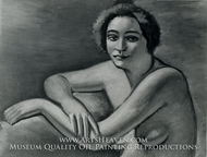 Nude painting reproduction, Andre Derain