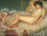 Nude at Rest by Frederick Carl Frieseke