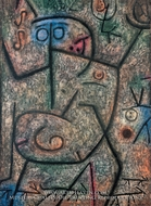 O die Geruchte by Paul Klee