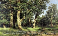 Oak Wood by Ivan Shishkin