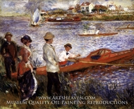 Oarsmen at Chatou by Pierre-Auguste Renoir