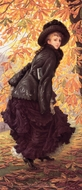 October painting reproduction, James Tissot