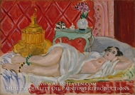 Odalisque, Harmony in Red by Henri Matisse