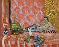 Odalisque with Gray Trousers painting reproduction, Henri Matisse