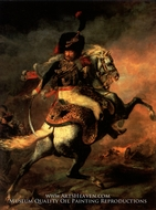 Officer of the Hussars by Theodore Gericault