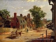 Old Annapolis, Francis Street by Francis Blackwell Mayer