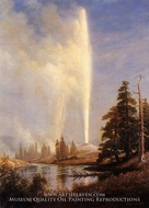 Old Faithful by Albert Bierstadt