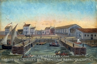 Old Ferry Stairs by William P. Chappel
