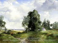Old Windmill, East Hampton, Long Island, New York by Thomas Moran