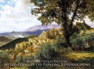 Olevano by Albert Bierstadt