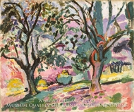 Olive Trees at Collioure by Henri Matisse