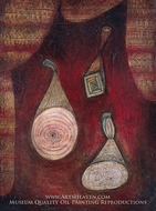 Omega 5 by Paul Klee