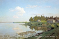 On Lake by Isaak Levitan