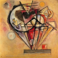 On Points painting reproduction, Wassily Kandinsky