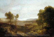 On the Hudson painting reproduction, Thomas Doughty