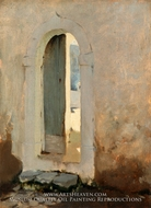 Open Doorway, Morocco painting reproduction, John Singer Sargent