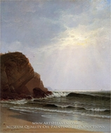 Otter Cliffs, Mount Desert Island, Maine by Alfred Thompson Bricher