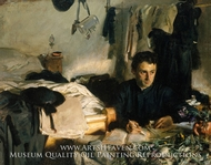 Padre Sebastiano by John Singer Sargent