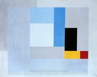 Painting, 1937 painting reproduction, Ben Nicholson
