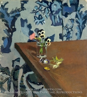 Pansies painting reproduction, Henri Matisse