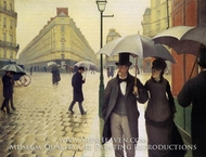 Paris Street, Rainy Weather by Gustave Caillebotte