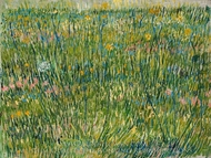 Patch of Grass painting reproduction, Vincent Van Gogh
