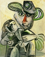 Paternite painting reproduction, Pablo Picasso (inspired by)