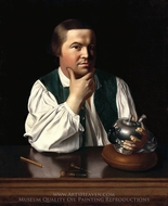 Paul Revere painting reproduction, John Singleton Copley