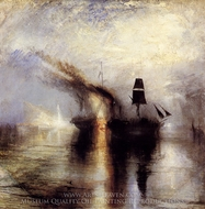 Peace, Burial at Sea painting reproduction, Joseph Mallord William Turner