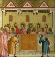 Pentecost painting reproduction, Giotto Di Bondone