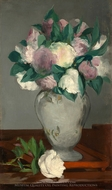 Peonies painting reproduction, Edouard Manet