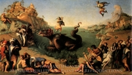 Perseus Freeing Andromeda painting reproduction, Piero Di Cosimo