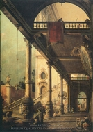 Perspective painting reproduction, Canaletto