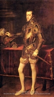 Philip II, as Prince by Titian