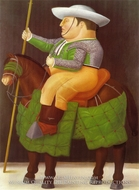Picador painting reproduction, Fernando Botero