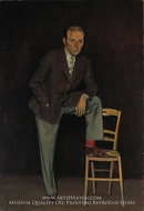 Pierre Matisse by Balthus