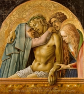 Pieta painting reproduction, Carlo Crivelli