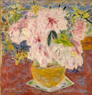 Pink Bouquet painting reproduction, Pierre Bonnard