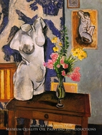 Plaster Torso and Bouquet of Flowers by Henri Matisse