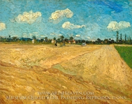 Ploughed Fields by Vincent Van Gogh
