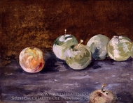 Plums painting reproduction, Edouard Manet