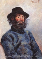 Poly, Fisherman From Bell-Ile-en-Mer by Claude Monet