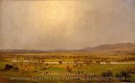 Pompton Plains, New Jersey painting reproduction, Jasper Francis Cropsey