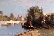Pont des Arts by John Joseph Enneking