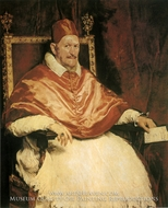 Pope Innocent X by Diego Velazquez