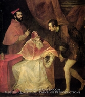 Pope Paul III and Nephews by Titian