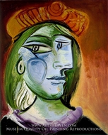 Portrait de Femme by Pablo Picasso (inspired by)