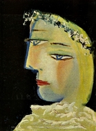 Portrait de Marie-Therese painting reproduction, Pablo Picasso (inspired by)