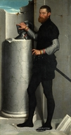 Portrait of a Gentleman painting reproduction, Giovanni Battista Moroni