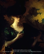 Portrait of a Lady by Frank Weston Benson